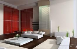 S2001 con vidrio lacado rojo